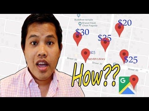របៀបបង្កើត Home and  Work Address លើ Google Map និង ការរកលុយ $$$