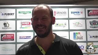 ITW Guéric Kervadec après le match face à Pays d'Auray