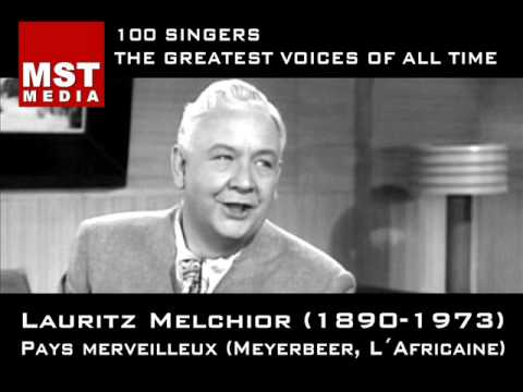 100 greatest singers lauritz melchior youtube. Black Bedroom Furniture Sets. Home Design Ideas