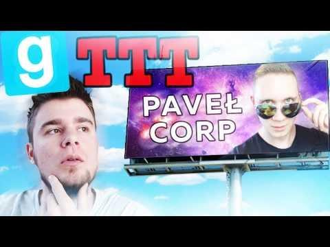 PAVEŁ CORP! | Garry's mod (W: Hadesiak, Flothar, Plaga, Admiros, Paveł) #482 - TTT [#74]