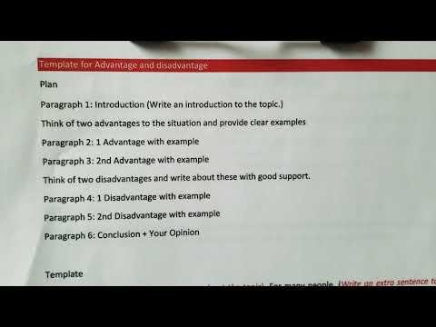 advantages-and-disadvantages-essay-template