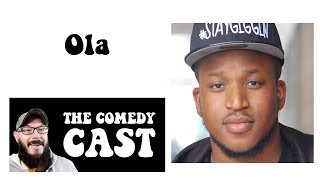 Comedy Podcast | The Comedy Cast with British Comedian Ola