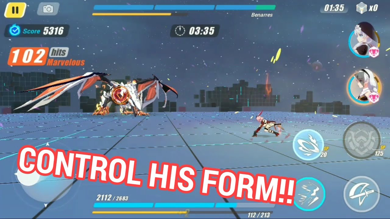Fixed Gameplay on Benares SS Memorial Arena Expert Lv 70 - Honkai Impact  3rd SEA by Ayaya Honkai
