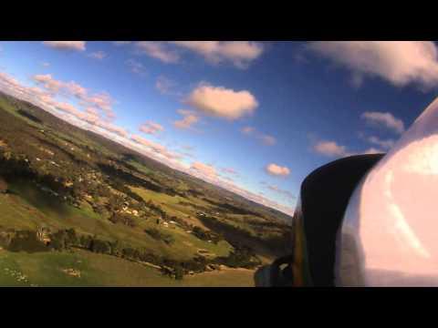 Bixler 2 on a windy day at Bathurst Model Aero Sports Field