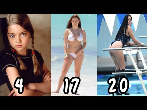 Ariel Winter Transformation From 120 years Old ★ From Baby To Teenager