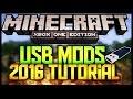 Minecraft - XBOX ONE USB Mods 2016 (TUTORIAL)::