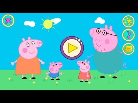 Свинка Пеппа бесплатная игра для андроид. Пазл.