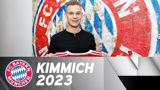 Joshua Kimmich extends contract until 2023