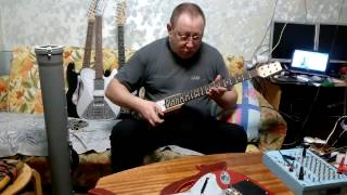 GLASOUND звукосниматель для каждой струны. Обзор возможностей с ним pickup for each string