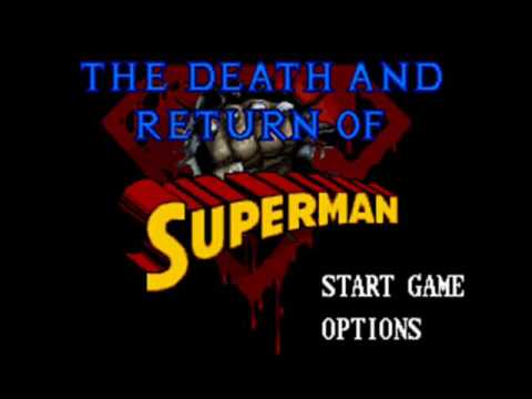 The Death and Return of Superman SNES Music - The Last Son of Krypton