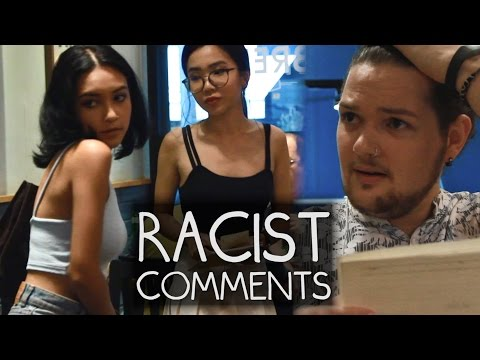 RACIST COMMENTS in Real Life! (Singapore)