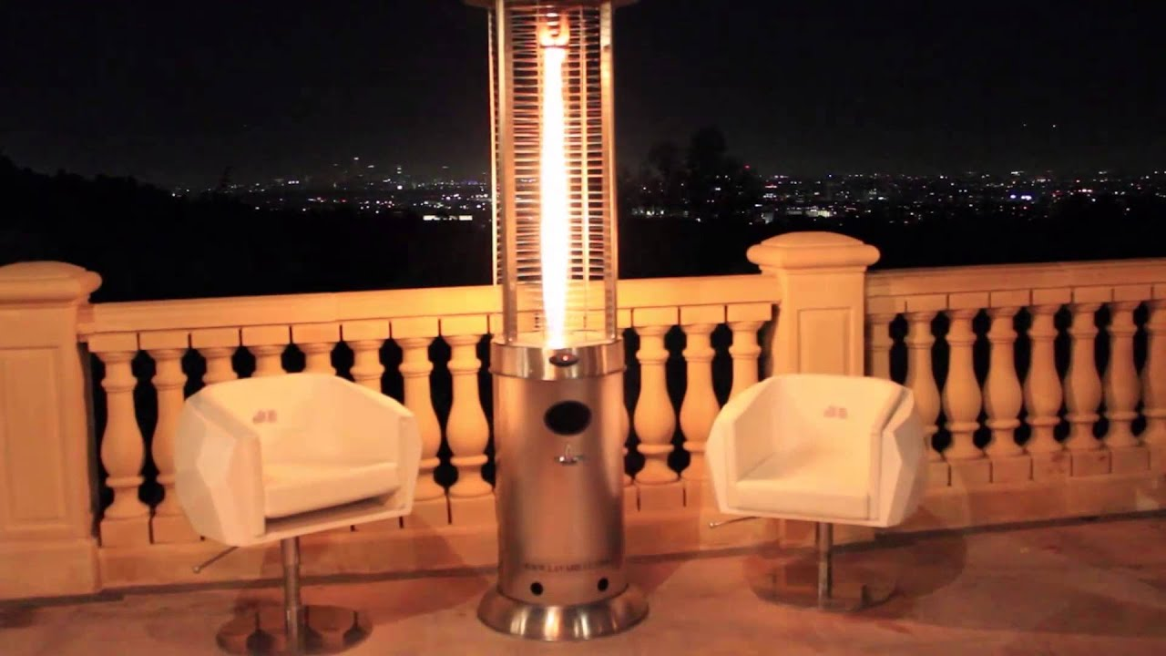 lava heat italia opus model propane or natural gas patio heater youtube - Propane Patio Heater