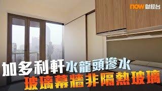 20190614 樓市每日睇﹣新屋入伙:加多利軒水龍頭滲水 玻璃幕牆非隔熱玻璃