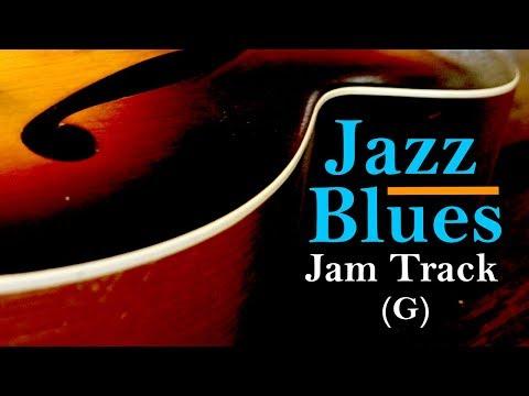 Jazz Blues Backing Jam Track // Medium Swing (G)