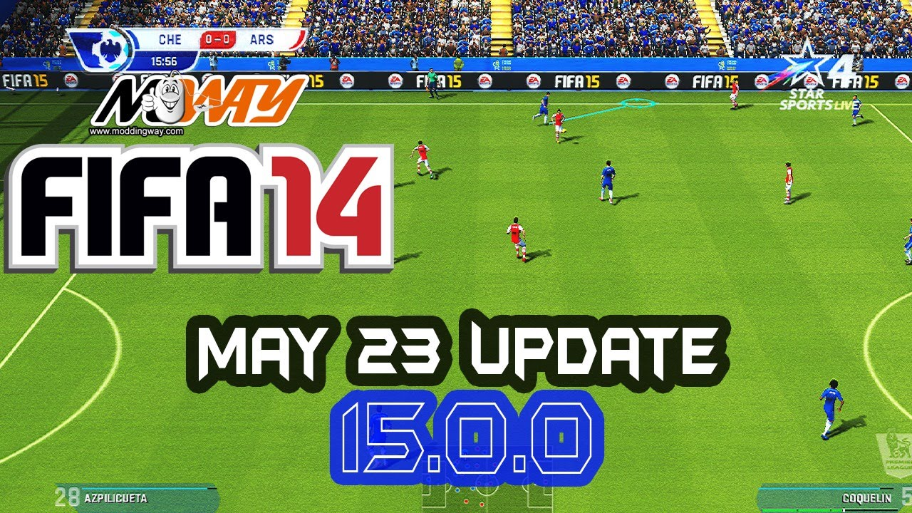 Fifa 14 moddingway mod update 5. 0. 0 and 5. 0. 1 fifa 14 video game.
