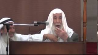 كلمة للشيخ حمدي عبدالمجيد السلفي في إحدى مجالس الشيخ مشهور بن حسن آل سلمان
