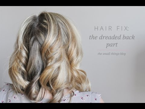Hair Fix Back Part Youtube