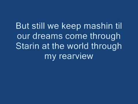 2PAC - STARIN' THROUGH MY REAR VIEW LYRICS