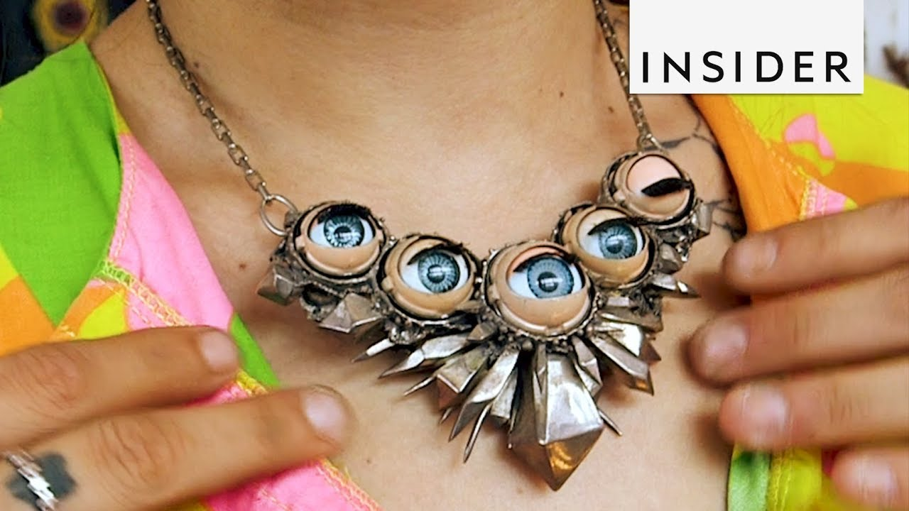 n crafts smith costume eyeball img necklace emily