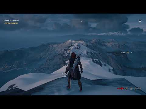 Assassin's Creed Odyssey - Climbing To The Highest Point On The Map