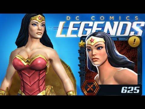 DC Comics Legends - Wonder Woman Review!
