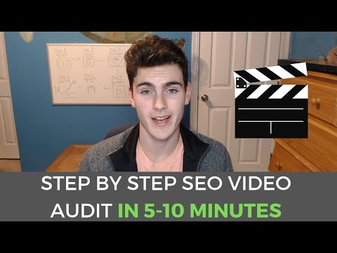 How To Make A Video SEO Audit in 2018 [Part 4]