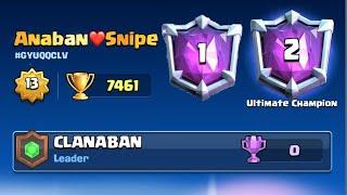 ¡TOP 1 y TOP 2 DEL MUNDO EN UN MISMO VIDEO!! 😱❤️ +7461 Copas!! 😱🏆   Clash Royale -Anaban CR