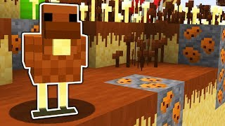 HOW TO LIVE INSIDE A CANDY WORLD IN MINECRAFT!