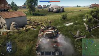 War Thunder - M18 Vs. Fence (AB Video Clip)