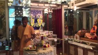 First ever go-puja at ISKCON Hong Kong