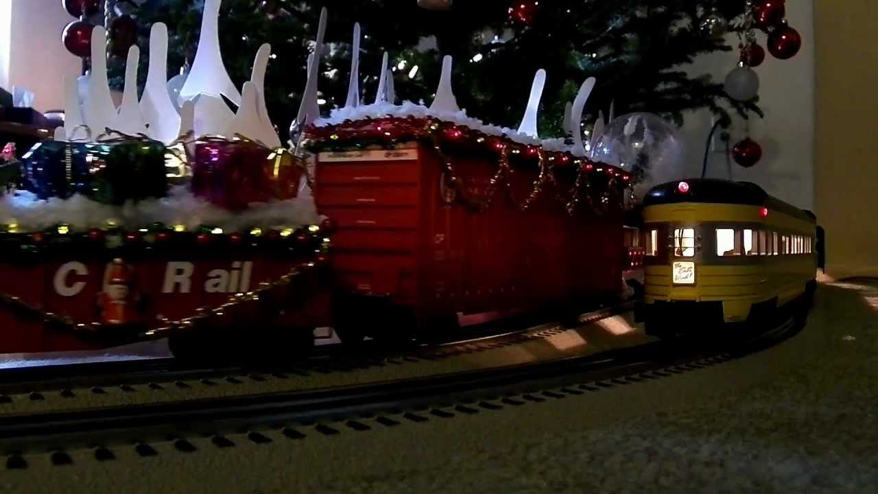 Canadian Pacific Christmas Train  Lionel Version