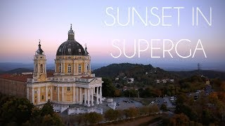 SUNSET IN SUPERGA (Turin) IN 4K: first flight with the DJI MAVIC PRO