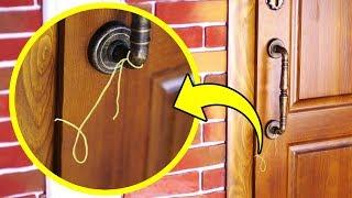 Eğer Kapınızın Kolunda İplik Bulursanız Dikkat Edin!