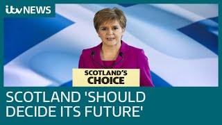 Nicola Sturgeon: Election result 'watershed moment' for Scotland | ITV News