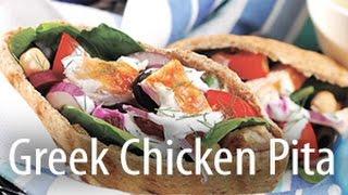Inspired Cooking Presents: Greek Chicken Pita