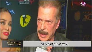 Sergio Goyri aparece ante los medios