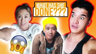 She Messed Up HIS HAIR! **oops**