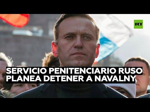 Se busca a Navalny por violar etapa de prueba tras condena por fraude