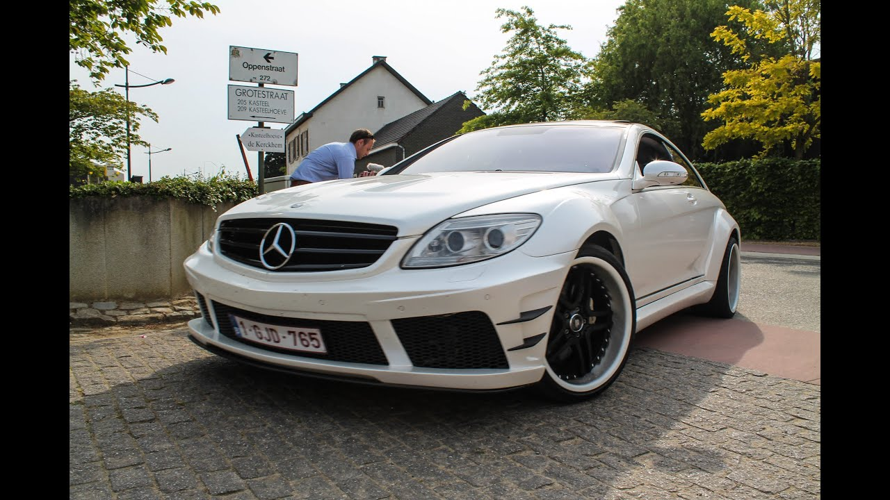 mercedes cl w216 prior design black edition epic sound. Black Bedroom Furniture Sets. Home Design Ideas