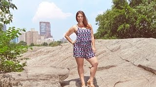 Fashion To Figure Presents - Plus Size Fashion in Central Park Thumbnail