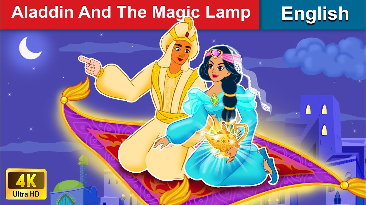 Aladdin and The Magic Lamp 👳 Bedtime stories 🌛 Fairy Tales For Teenagers | WOA Fairy Tales