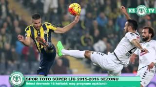 Spor Toto Süper Lig'de ikinci devrenin 16 haftalık maç programı açıklandı