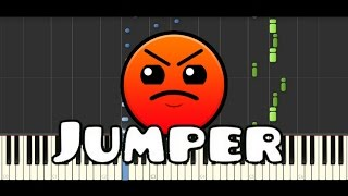 Synthesia [Piano Tutorial] | Waterflame - Jumper (Geometry Dash lvl 7)