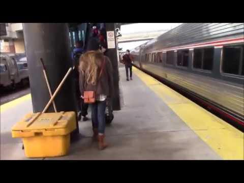 Arriving Albany-Rensselaer On Board Amtrak 48, Lake Shore Limited