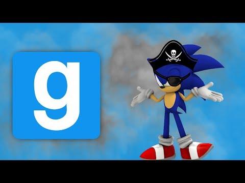 GMOD Deathrun - Rockin the pirate boat