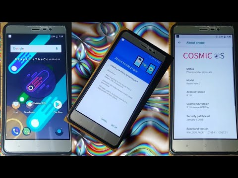 Cosmic OS android 8 1 0 oreo for redmi note 3 bootloop fixed