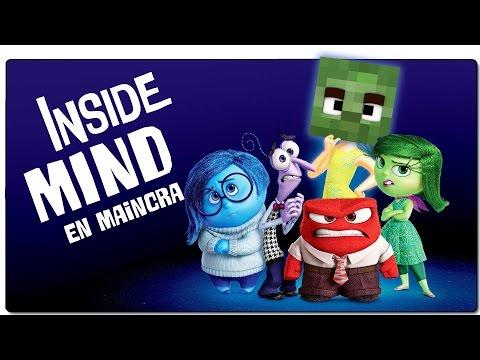 ¡DEL REVES (INTENSAMENTE) EN MINECRAFT! INSIDE MIND (INSIDE OUT)   MAPA MINECRAFT 1.10.2 EN ESPAÑOL