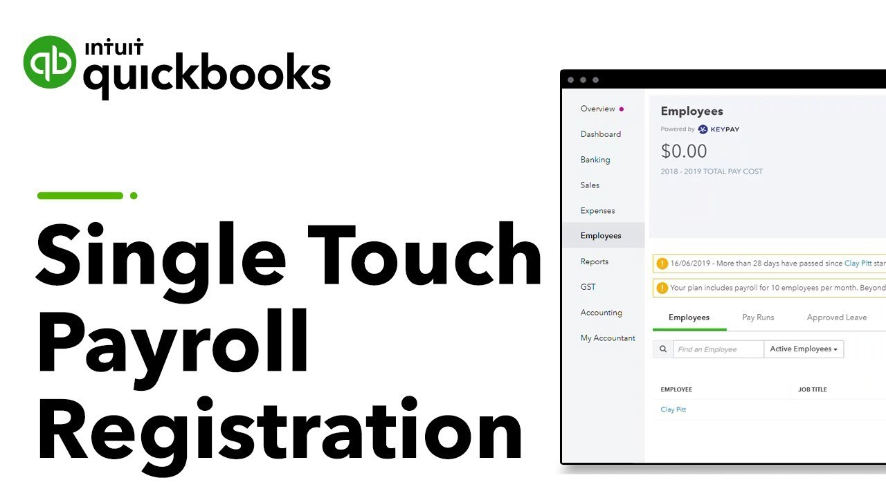 Single Touch Payroll (STP) | QuickBooks Online