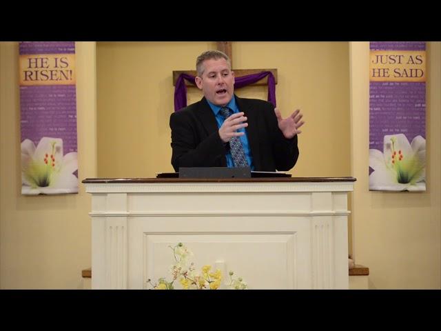 Calvary Baptist Church Sermon 4/19
