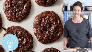 François Payard's Flourless Chocolate Walnut Cookies | Genius Recipes